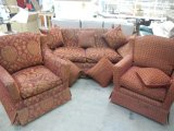 French Style Drop Side Sofa and Chairs