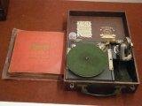 Pixie Grippa Portable Gramophone