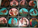 Punch & Judy Magic Lantern Slides