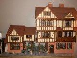 Large Dolls House & Dolls Furniture