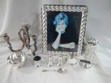 Many items of Fine Silver