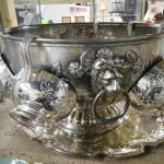 Many lots of silver and silver plate
