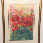 Oil on Board - Dorothy Roberts 'Poppies'' Est £500-£700