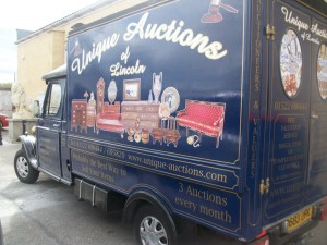 Unique Auctions Vintage Van