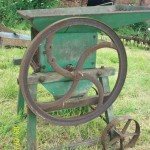 Antique farming item
