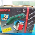 Bosch wood carving set