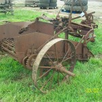 Old farming item