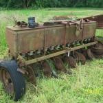 Old farming tool