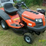 Ride on mower (unused)