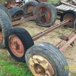 Vehicle axles