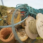 Wire, rope etc