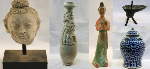 Asian Artifacts unique auctions lincoln auctioneers – asian & art & artifacts