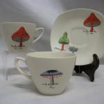 Jessie Tait Midwinter Toadstool Trios & Plates