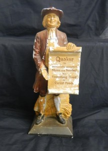 Rare Quaker Oats Limited Chalk Quaker Man Statue – 2014