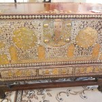 19th C Middle Eastern Mule Chest