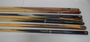 Vintage Snooker Cues to Top Score at Unique Auctions