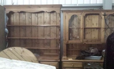 Good selection of Antique, Retro and Modern Furniture at November sale