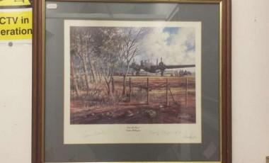 Barnes Wallis and Johnnie Johnson Signed Prints