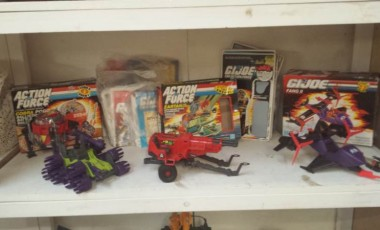 G I Joe Vehicle Collection & G I Joe Action Figure Cards