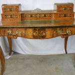 A Mid 19th Century Marquetry writing desk