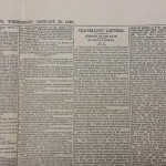 Charles Dickens Daily News No 1 January 21st 1846 including Travelling Letters