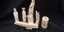 A collection of fine ivory