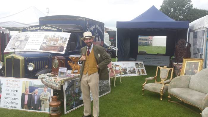 Unique Auctions at the Lincolnshire Show