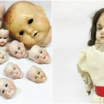 A large collection of Antique Dolls
