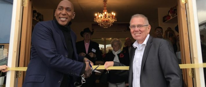 Unique Auction's Grand Opening with Colin McFarlane