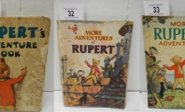 Early Rupert Annuals including 1936 and war issues at Book Auctions