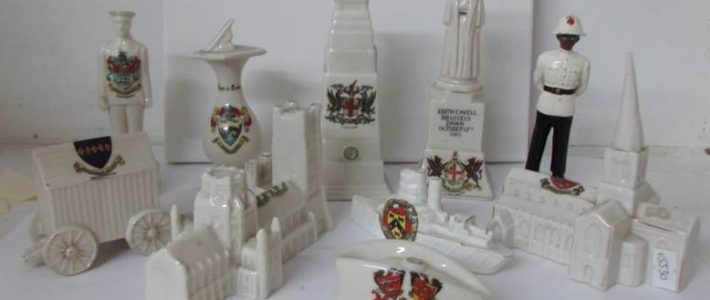Large Crested China collection including Goss