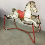 A Mobo rocking horse