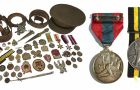 WWI and WWII medals belonging to W.Sudale