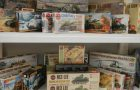 Collection of over 400 model kits – aeroplanes, tanks, military, cars and more
