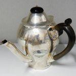 A Silver Argyll pot made by John James Hallmark 1746. Needs some repair