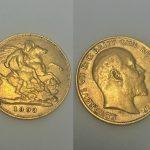 A 1903 Edward VII half sovereign