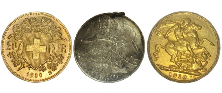 Day 1 Coins, Sovereigns, Gold and Silver Saturday 26th August 9am