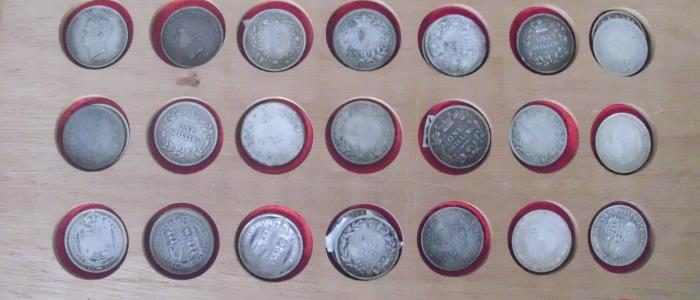 Massive private collection of coins in 26th August Auction