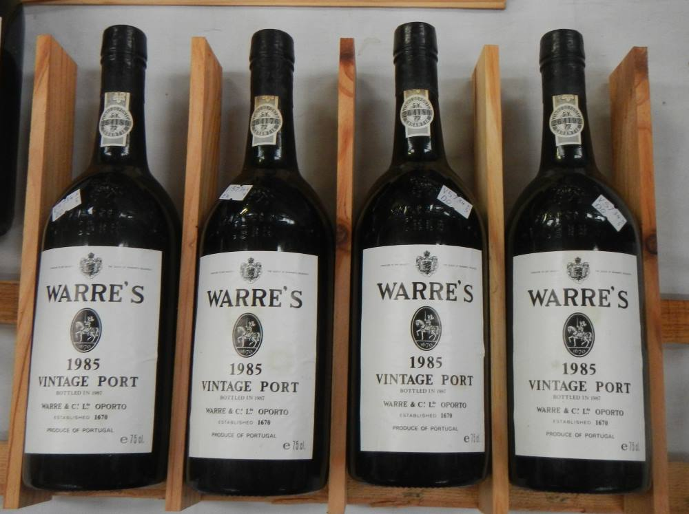 Vintage Warre's Port and Dow's Port at Unique Auctions
