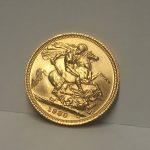 A 1980 Gold Sovereign