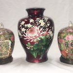 Many items of early Chinese cloisonné, soft paste porcelain vases, plates, Jade etc.
