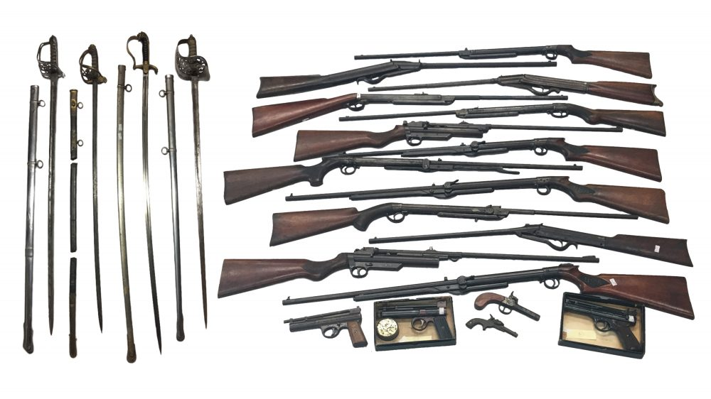 Collection of Vintage Air Rifles including Webley & BSA