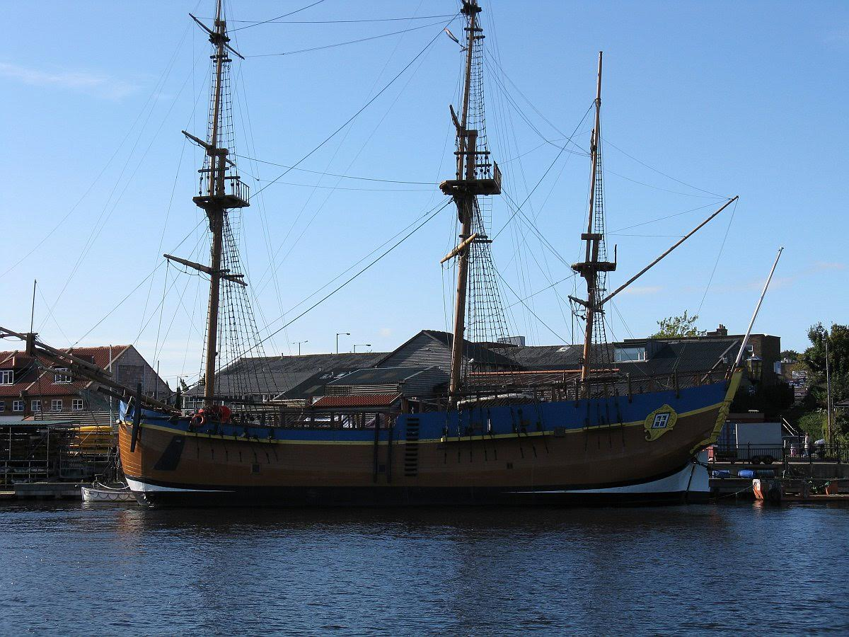 HM Bark Endeavour to be sold at auction 28th August