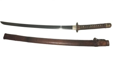 Japanese Katana sword sells for £2,000