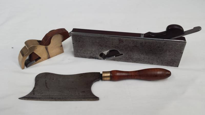 Early tools including Holtzapffel & Deyerlein Hachoir