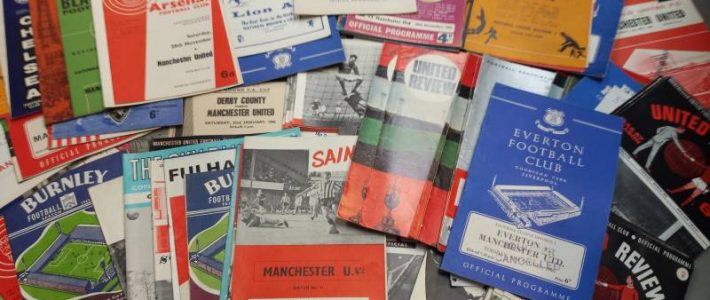 Manchester United Football Programme Collection