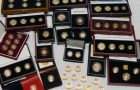 Gold and Coin Collections including Krugerrands, Britannias, Sets etc