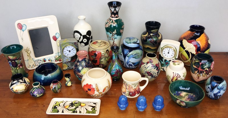 moorcroft pottery collection
