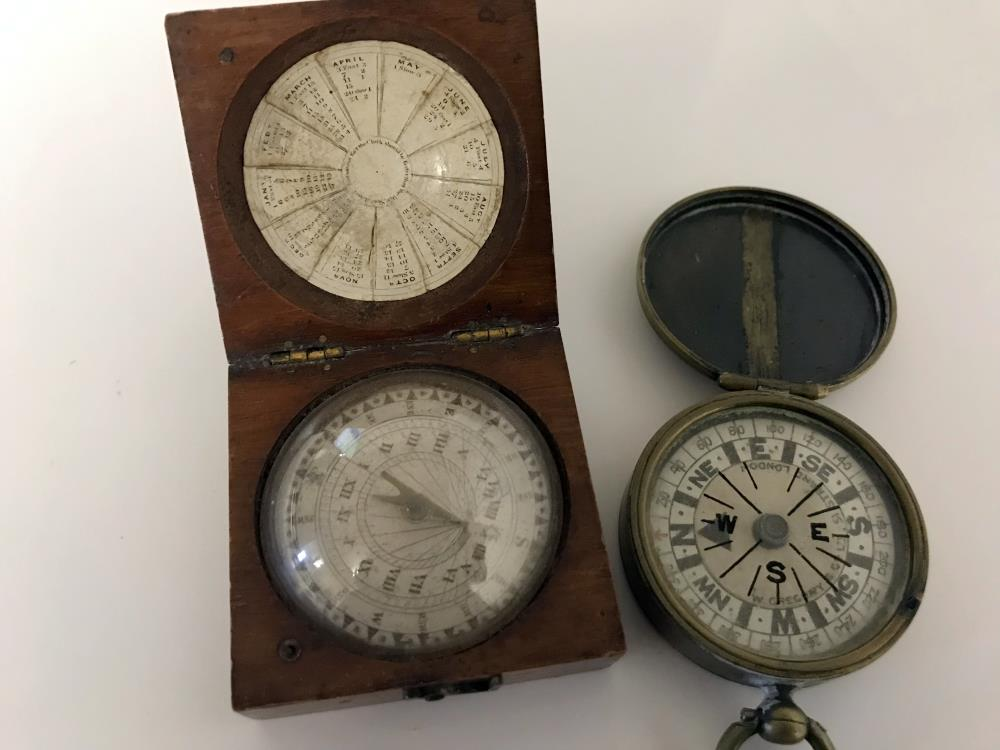 Rare Compasses including Charles Nephew & Co and Gregory & Co
