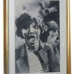 Mick Jagger by by D R Adamson